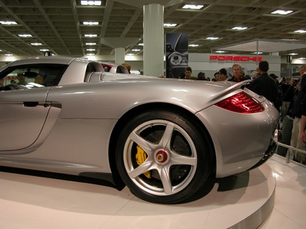 porsche carreragt rear